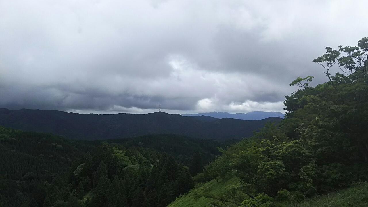 160609 竹次谷から雲取山、国体尾根の下見完了