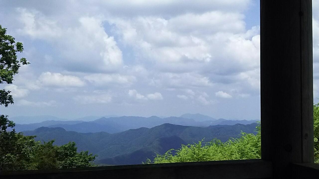 160731 長老ヶ岳から南へ縦走