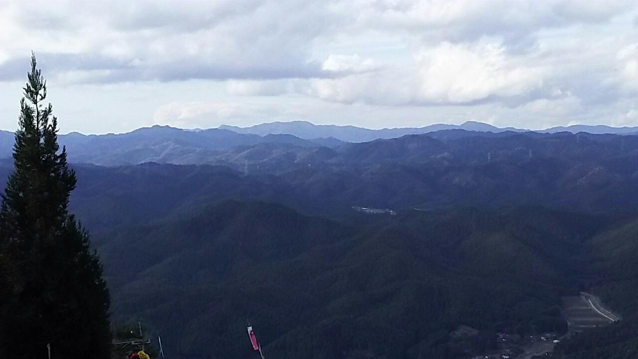161208 点名:長子からジョウラク峠、飯森山の下見完了