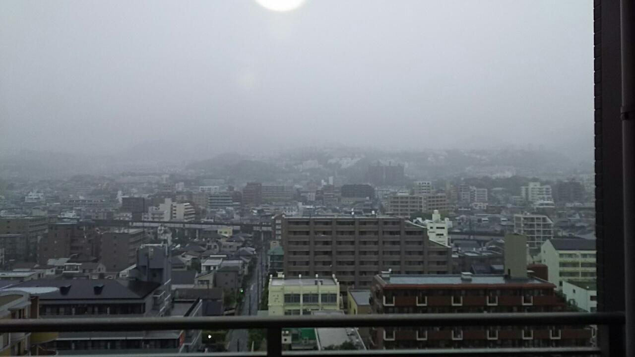 180513 今日は雨で下見中止