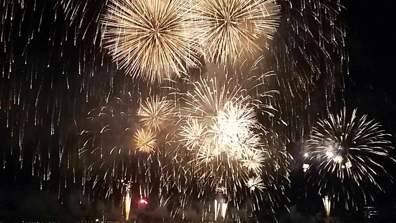 180804 神戸港の花火大会