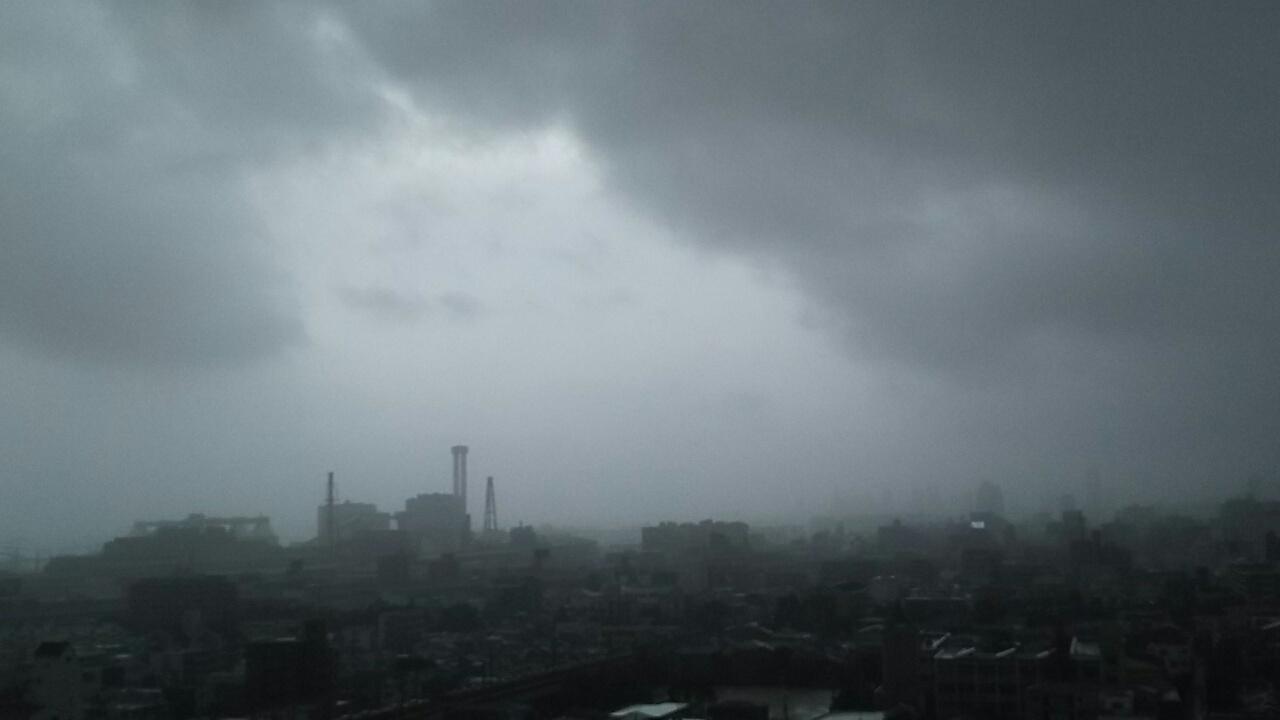 180904 台風21号神戸に襲来
