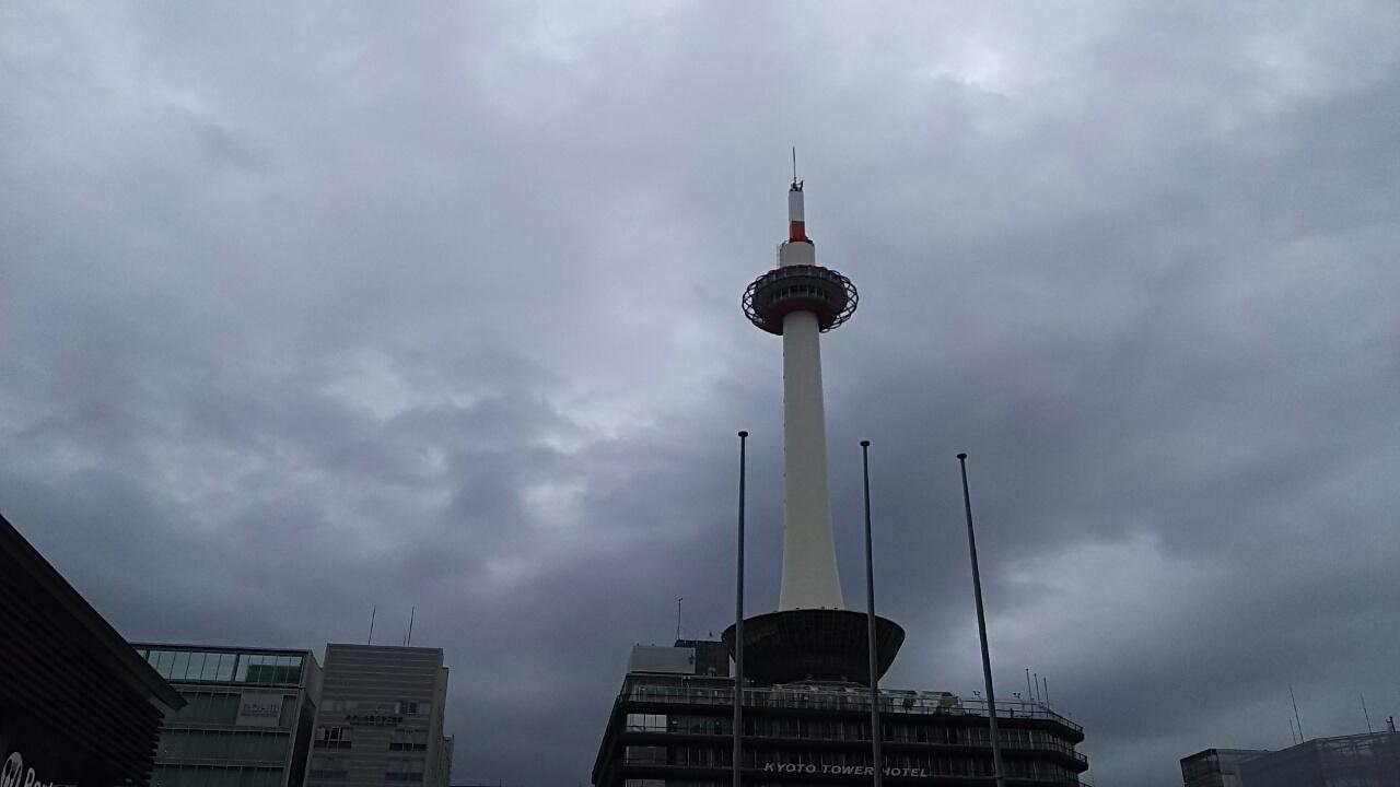 181011 今日も京都は曇り空