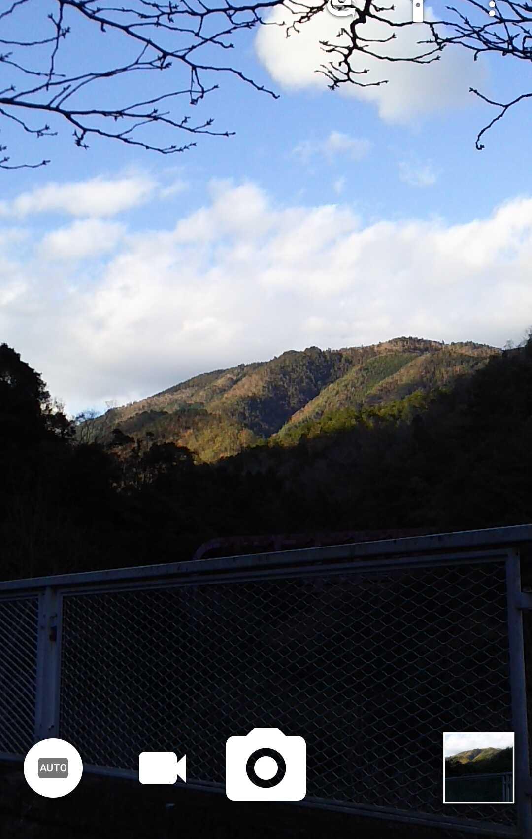 181208 中尾根から愛宕山、水尾の下見完了